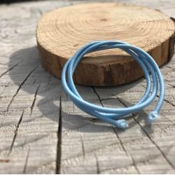 DCIC - Rilegatura - Elastico tubolare Azzuro 1mm
