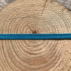 DCIC - Rilegatura - Elastico Piatto Turchese 5mm