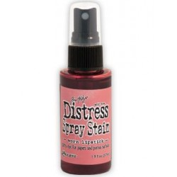 Distress Stain Spray - Colori - Worn Lipstick