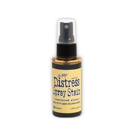 Distress Stain Spray - Colori - Scattered Straw