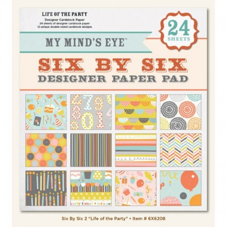 """My Mind's Eye - Kit Collezione Life Of The Party - 6x6"""""""