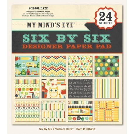 "My Mind's Eye - Kit 6x6"" - School Daze"