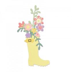 Sizzix - Fustella Thnlits - Rain Boot Planter