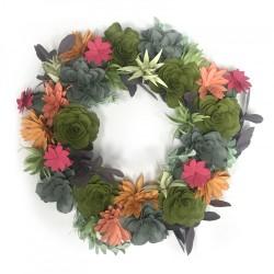 Sizzix - Corona - Succulent Wreath
