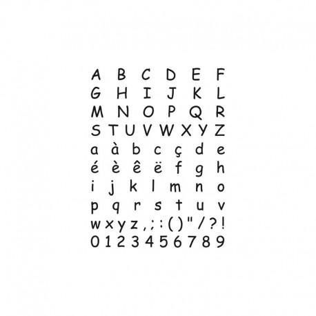 Artemio - Timbro Clear - Alphabet 10001025