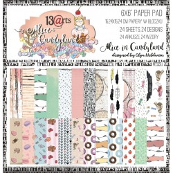 "13 arts - Kit 6x6"" - Alice in Candyland"