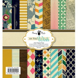 "Fancy Pants - Kit Carte 6x6"" - As You Wish"