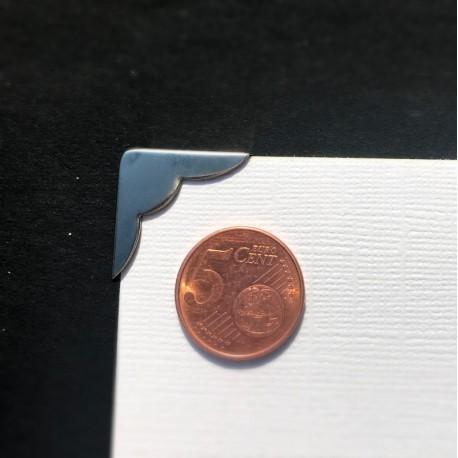 DCIC - Rilegatura - Protezioni Angolari 22mm - Argento