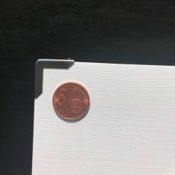 DCIC - Rilegatura - Protezioni Angolari 20mm - Argento