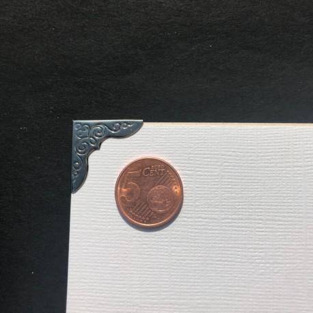 DCIC - Rilegatura - Protezioni Angolari 23mm - Argento Decorato