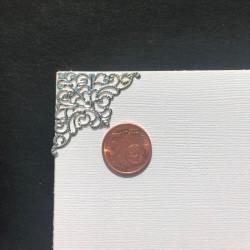 DCIC - Rilegatura - Protezioni Angolari 36mm - Argento Decorato