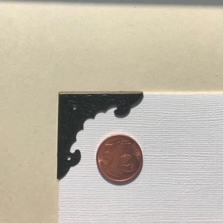 DCIC - Rilegatura - Protezioni Angolari 41mm - Bronzo Decorato