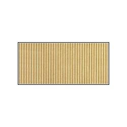 Cartoncino Ondulato Millerighe sottili 25x32 - Oro
