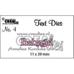 CreaLies - Fustella - Babygirl