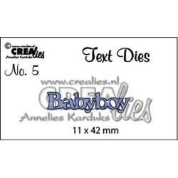 CreaLies - Fustella - Babyboy