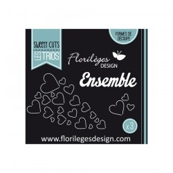Florileges Design - Fustella - Envol de coeurs