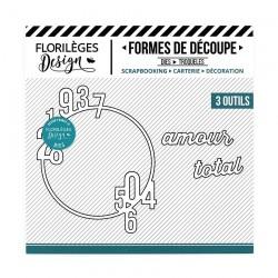 Florileges Design - Fustella - Amour Total