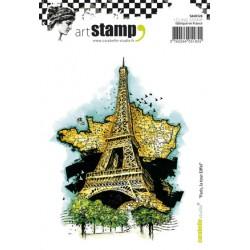 Carabelle - Timbri Cling - Paris, la tour Eiffel
