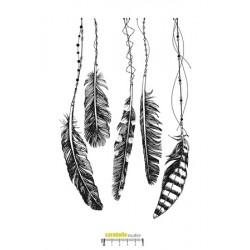 Carabelle - Timbri Cling - Danse avec les plumes