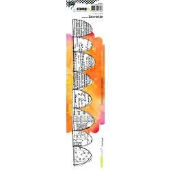 Carabelle - Timbri Cling XXL- Danse avec les plumes