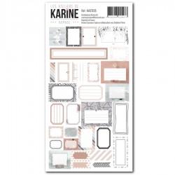 Les Ateliers de Karine - Stickers- Nomade 30 étiquettes