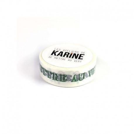 Washi tape-Karine Cazenave-Tapie - La nature est belle