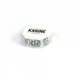 Les Ateliers de Karine - Washi tape - World