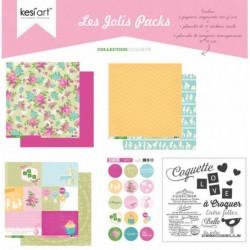 """kesi'Art - Kit 12x12""""- Les jolis Packs"""