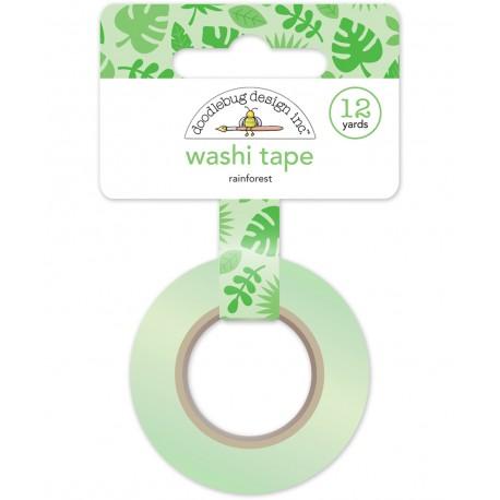 Doodlebug design - Washi Tape - Rainforest