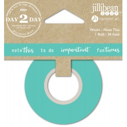 Washi Tape - Jillibean Soup - Note This