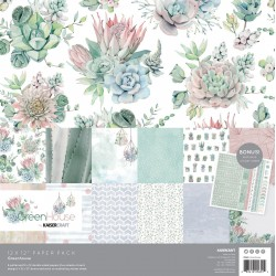 "KaiserCraft - Kit Carte 12x12"" -  Greenhouse"