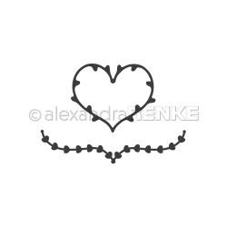 Renke - Fustella - Heart tendril
