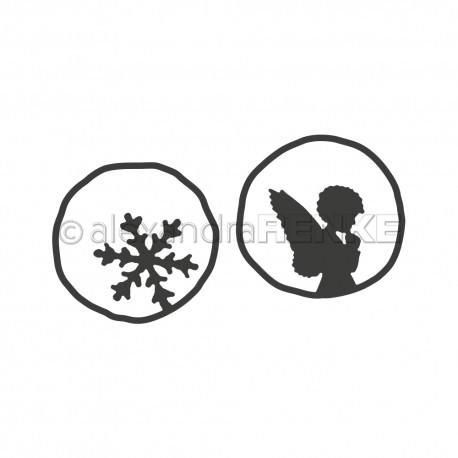 Renke - Fustella - Angel, Snowflake