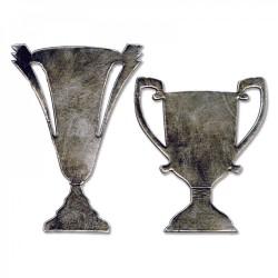 Sizzix - Fustella Bigz - Tarnished Trophies
