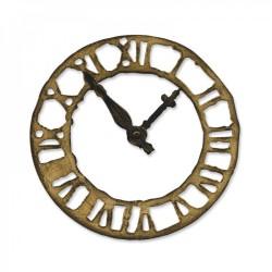 Sizzix - Fustella Bigz - Weathered Clock