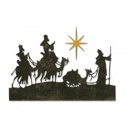 Sizzix - Fustella Thinlits - Wise Men