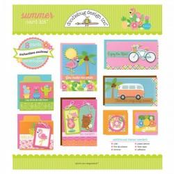 Doodlebug design - Kit Carte - Summer Card Kit
