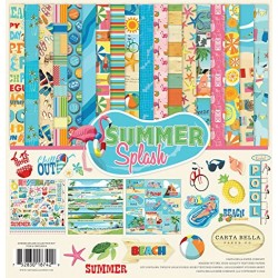 "Carta Bella - Kit Carte 12x12"" - Summer Splash"