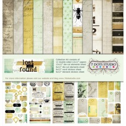 "7 Dots Studio - Kit Carte 12x12"" - Lost and Found"