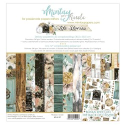"""Mintay Papers - Kit Carte 12x12"""" - Life Stories"""