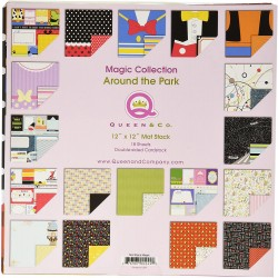 "Queen & Co - Paper Pad 12x12"" - Around the World"