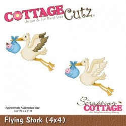Cottage Cutz - Fustella - Flying Stork