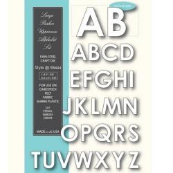 Memory box - Fustella - Large Parker Uppercase Alphabet