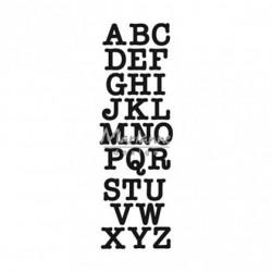 Marianne Design - Fustella - Craftables punch die ABC