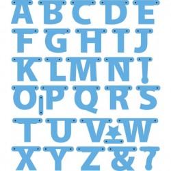 Marianne Design - Fustella - Creatables alphabet garland