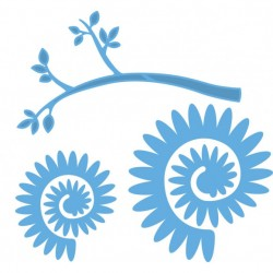 Marianne Design - Fustella - Creatables branch with flower 2