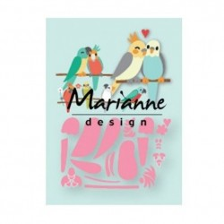Marianne Design - Fustella - Collectables Eline's birds
