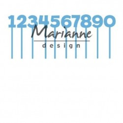 Marianne Design - Fustella - Creatables pins numbers