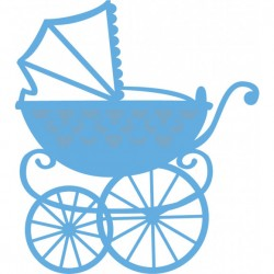 Marianne Design - Fustella - Creatables Eline baby carriage