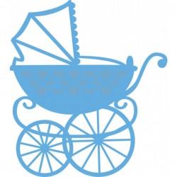 Marianne Design - Fustella - Creatables Eline baby carriage